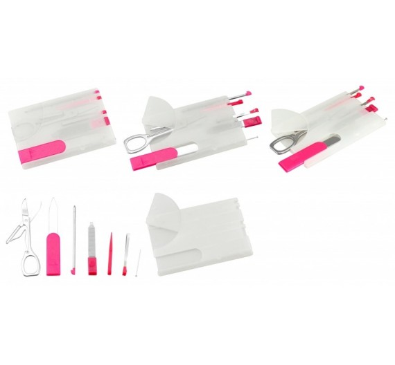 Card Tool Manicure Set